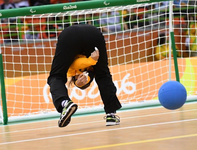 Goalball feminino - Brasil x EUA - Paralimpíada Rio 2016 (Foto: André Durão)