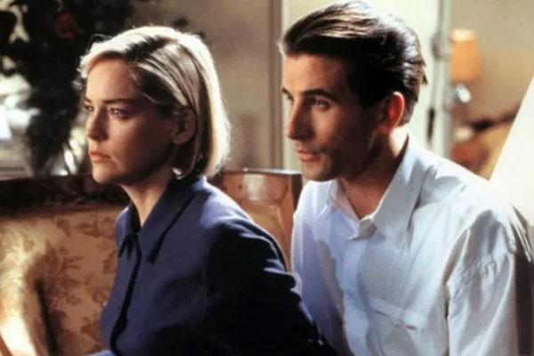 William Baldwin e Sharon Stone em 'Invasão de Privacidade' (1993) (Foto: Divulgação)