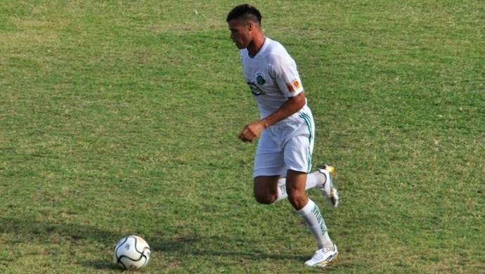 Zagueiro David Queiroz (Foto: Diogo Araújo)