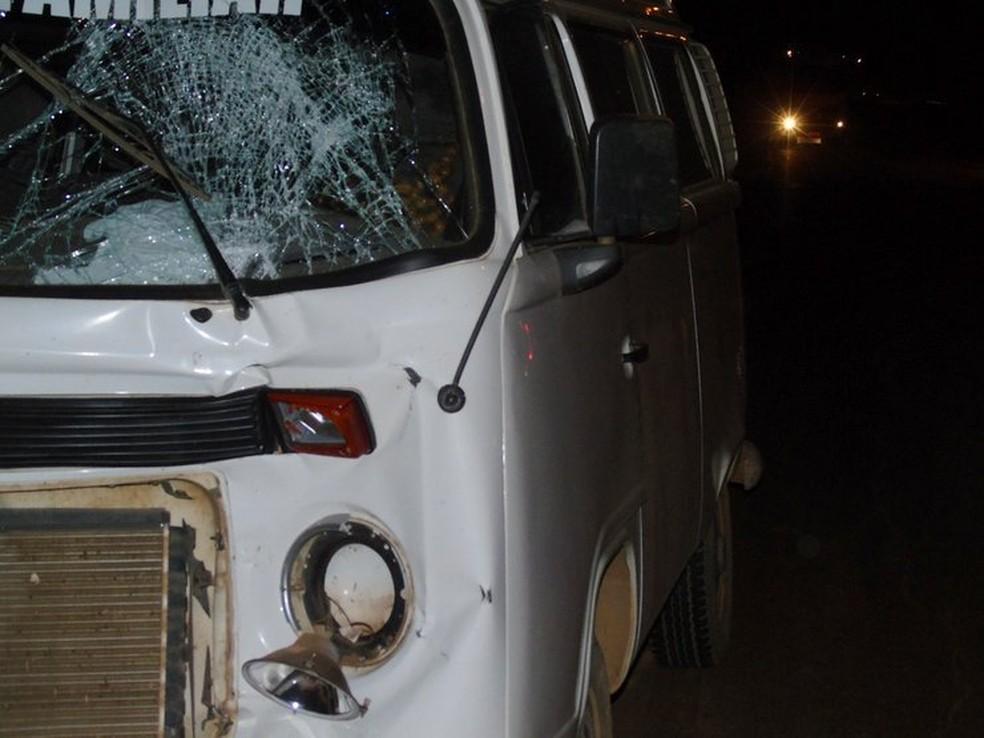 Acidente ocorreu no começo do mês (Foto: Jaru Online/Reprodução)
