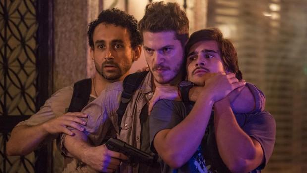 Rock Story: Alex faz Zac de refém ao ser cercado (Gshow)