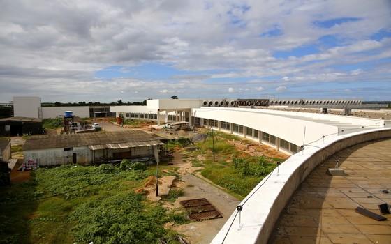 Obras do Campus do Cérebro, no Rio Grande do Norte, em 27 de agosto de 2015 (Foto: ASCOM Reitoria / UFRN)