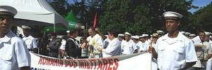 Romaria dos Militares atrai mais de 5 mil fiéis ao Convento (Juliana Borges/ G1 ES)