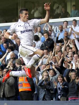 Gareth Bale gol Tottenham (Foto: AFP)