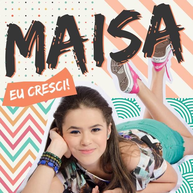 Capa do novo CD de Maísa (Foto: Divulgação)