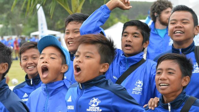 Indonésia sub-12 futebol (Foto: Vitor Geron)