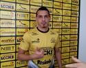 """Roberto quer acesso para felicidade ser completa no Criciúma: """"Falta isso"""""""