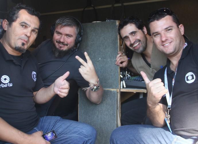 Equipe do Mistura (Foto: RBS TV/Divulgação)
