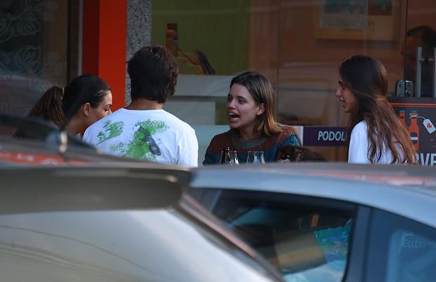 Isis Valverde, André Resende, Bruna Linzmeyer e Priscila (Foto: Dilson Silva/ AgNews)