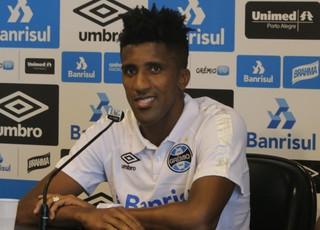 Bruno Cortez Grêmio (Foto: Eduardo Moura/GloboEsporte.com)