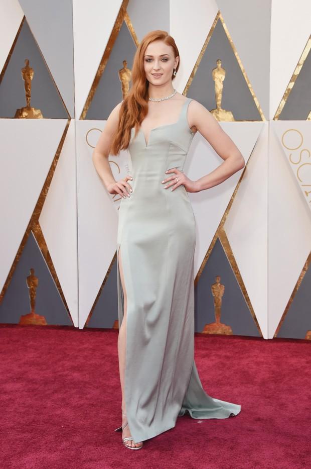 Oscar 2016 - Sophie Turner (Foto: GNT)