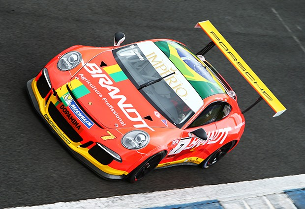Porsche GT3 Cup do piloto Miguel Paludo. (Foto: Divulgação/Luca Bassani)