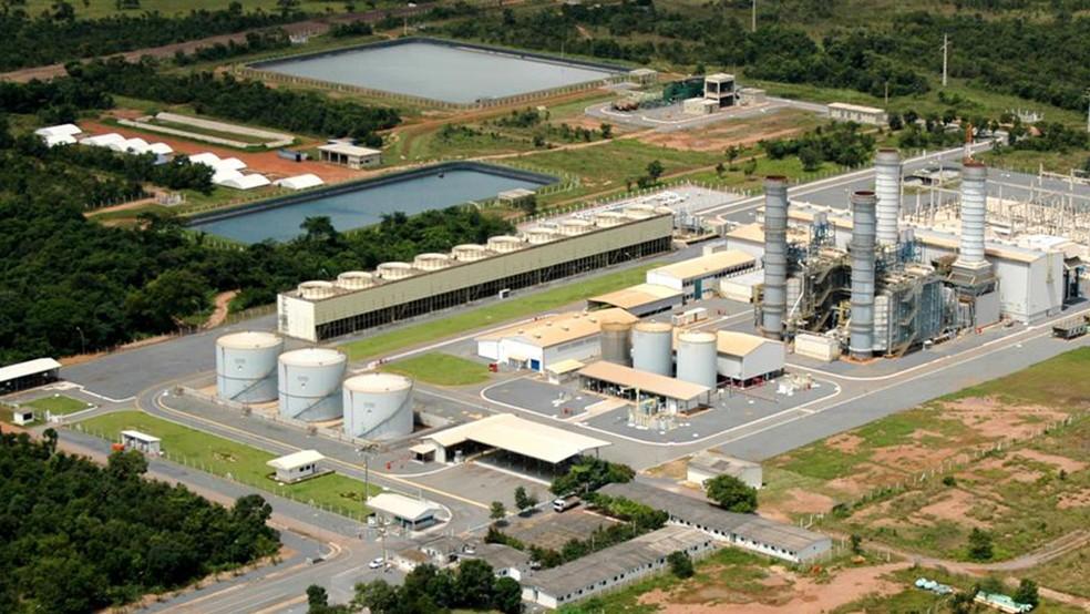 Vista aérea da Usina Termelétrica Mário Covas, conhecida como UTE de Cuiabá, atualmente propriedade da Âmbar Energia, do grupo J&F, de Joesley Batista (Foto: Divulgação/Âmbar Energia)