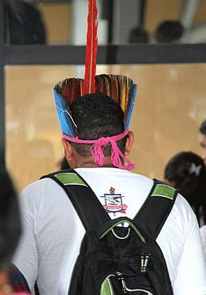 No Vestibular 2012 do Pará, as quatro universidades públicas ofertaram ao todo 422 vagas específicas para indígenas. (Foto: Alexandre Moraes/UFPA)