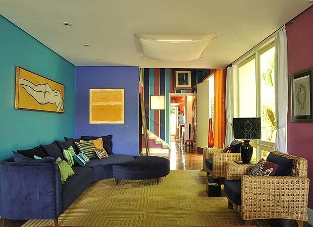 Ao ar livre e em cores casa e jardim ambientes - Tom interiores ...