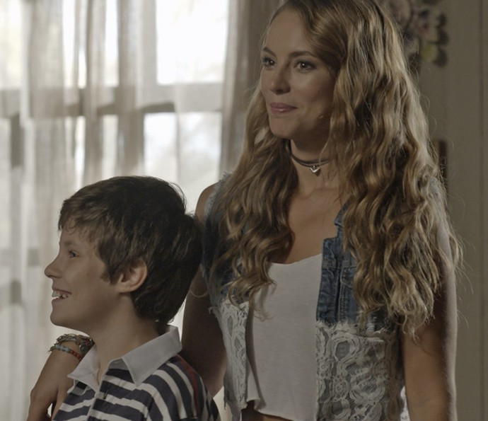 Melissa pede desculpas a Zilda (Foto: TV Globo)