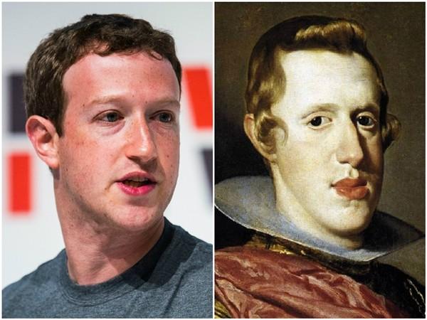 Mark Zuckerberg e Philip IV  (Foto: Getty Images/Divulgação)