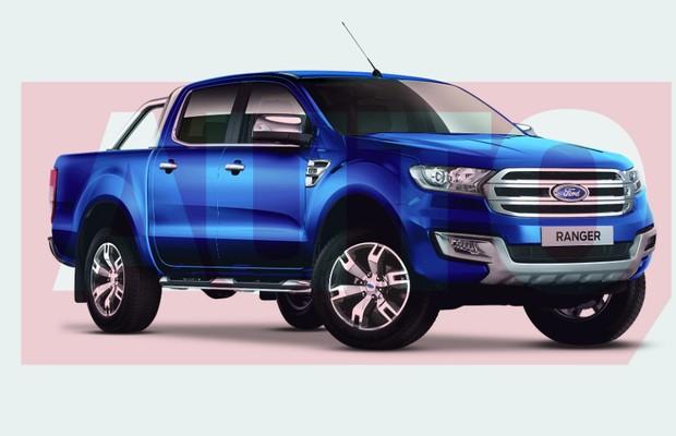 Projeção: Ford Ranger (Foto: Yuri Queiroz)