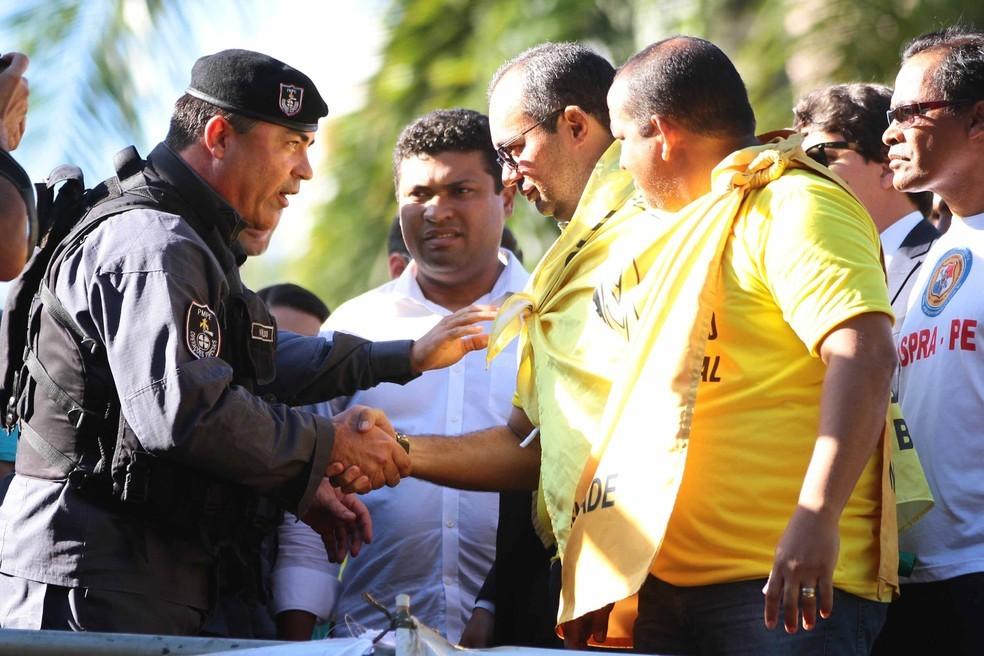 Presidente da ACS-PE havia sido detido no dia 9 de dezembro por descumprir ordem judicial (Foto: Marlon Costa/Pernambuco Press)
