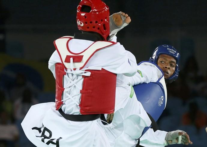 taekwondo, Maicon Siqueira, m'bar n'diayne (Foto: REUTERS / Issei Kato)