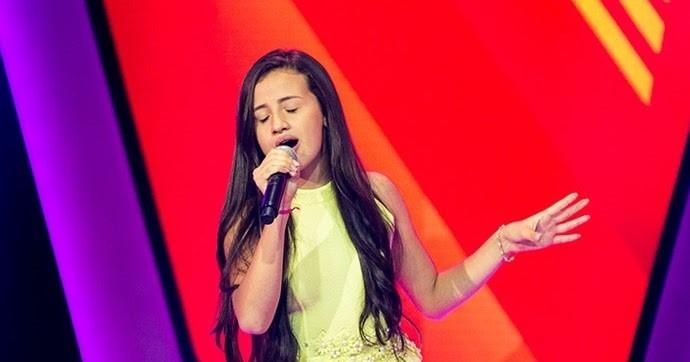 Stéffany Laura (ex The Voice Kids) está na campanha em apoio ao Cappelo  (Foto: Reprodução/ Globo )