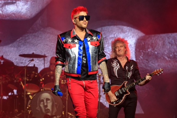 O músico Adam Lambert (Foto: Getty Images)