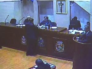 Vereador foi contra execução de Hino Nacional antes de sessões em Monte Alto (Foto: Reprodução/ EPTV)