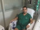 Baleado em atentado no RN, promotor diz que não perdoa atirador: 'Covarde'