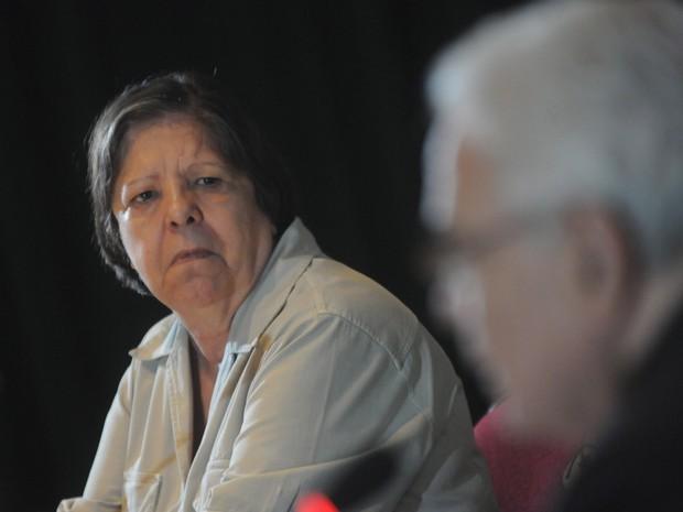 Inês Etienne Romeu durante audiência da Comissão Nacional da Verdade (Foto: José Pedro Monteiro / Agência O Dia / Estadão Conteúdo)