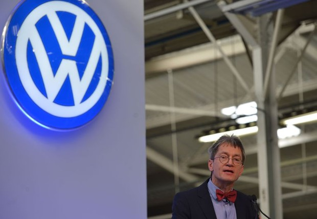 O  historiador Christopher Kopper fala sobre relatório produzido a pedido Volkswagen (VW) sobre a atuação da montadora alemã durante a ditadura militar brasileira  (Foto: Rovena Rosa/Agência brasil)