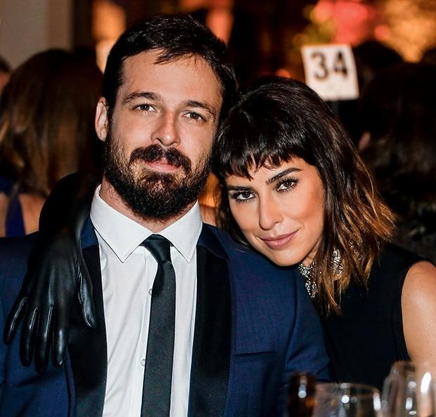Vinícius Longato e Fernanda Paes Leme  (Foto:  )