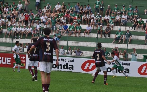 Chapecoense x Caxias (Foto: Chapecoense/Divulgação)