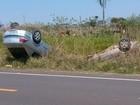 Acidente entre 2 carros mata homem e deixa feridos em via em Porangaba