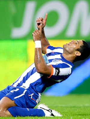 hulk porto gol vitoria de guimaraes (Foto: agência Reuters)