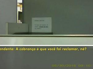 Câmera mostrou diferença com pacientes (Foto: Reprodução / TV TEM)