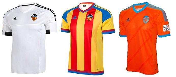 Camisas Champions valencia