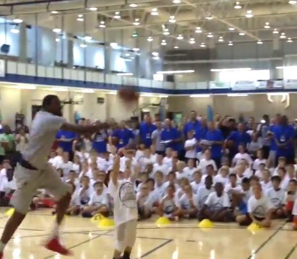 Frame Kevin Durant basquete (Foto: Reprodução / Instagram)