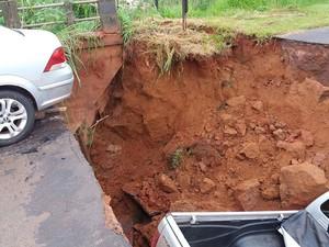 Fato ocorreu neste domingo (29), em estrada vicinal de Sagres (Foto: Prefeitura de Sagres/Cedida)