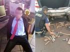 Homem de terno e gravata é preso com maconha no oeste do Paraná