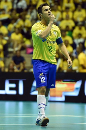Final Grand Prix de Futsal - Brasil x Colômbia - Falcão (Foto: Gaspar Nóbrega)