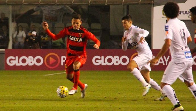 Santos x Sport (Foto: Williams Aguiar/Sport)