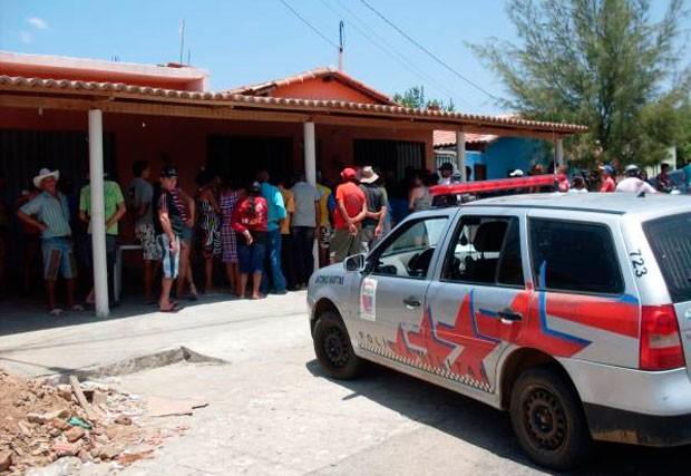 Um dos assassinatos registrados pela PM aconteceu em um bar na cidade de Antônio Martins (Foto: Marcelino Neto)