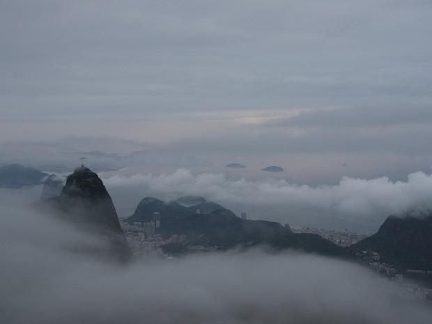 Rio tem céu claro e rpevisão de chuva para a tarde desta segunda (28) (Foto: Marcos Teixeixa Estrella/ TV Globo)