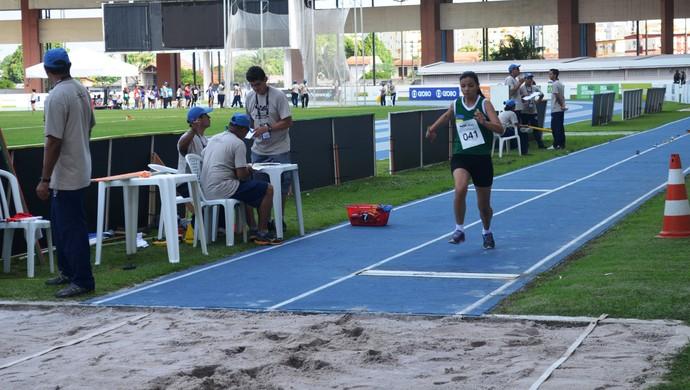 Primeiro dia de competições ruim para o Amapá nos Jogos Escolares (Foto: Jonhwene Silva/GE-AP)