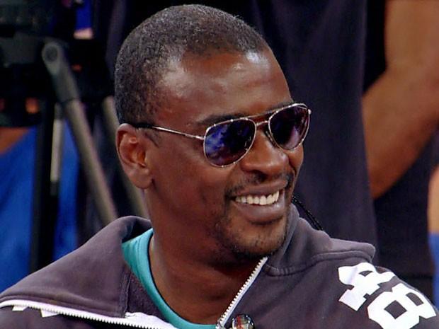 Seu Jorge fala das dificuldades que teve no início da carreira (Foto: TV Globo)