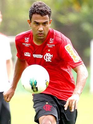 Renato Santos no treino do Flamengo (Foto: Ivo Gonzalez / Agencia O Globo)