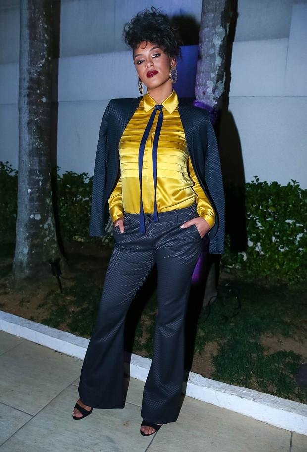 A Miss Brasil Raíssa Santana (Foto: Raphael Castello/AgNews)