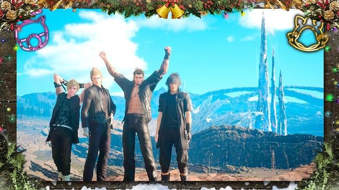 Final Fantasy 15 ganha molduras para fotos (Foto: Divulgação/Square Enix)
