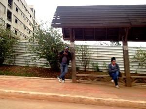 Frio em Rio Branco Acre (Foto: Yuri Marcel / G1)