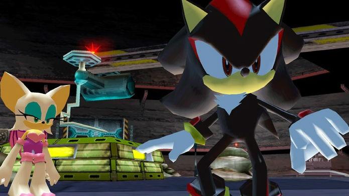 Shadow polemizou, mas não chegou aos pés dos jogos do Sonic (Foto: Reprodução/YouTube)